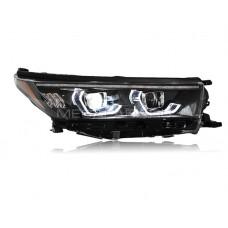 Передние фары Тойота Хайлендер 2018-2020 V23 type [Комплект Л+П; светодиодные; электрокорректор; яркие ходовые огни; динамичный поворотник]