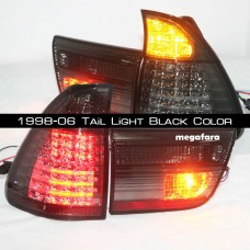 Задние фонари BMW X5 1998-06 Tail Light Black Color