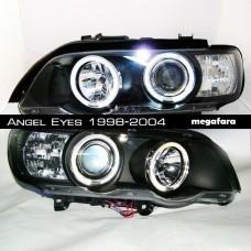 Передние фары BMW X5 Angel Eyes 1998-2004
