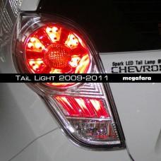 Задние фонари Шевроле Спарк Tail Light 2009-2011