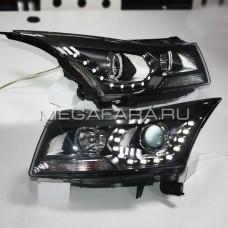 Передние фары Шевроле Круз V4 Type
