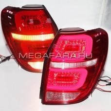 Задние фонари Шевроле Каптива 2008-2013 V3 type [КРАСНЫЕ; Комплект Л+П; светодиодные]