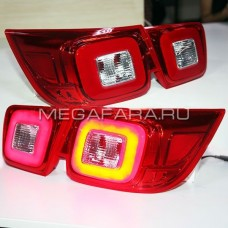 Задние фонари Шевроле Малибу V5 type