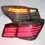 Задние фонари Шевроле Круз V6 type [Комплект Л+П; Светодиодные; Динамичный поворотник]