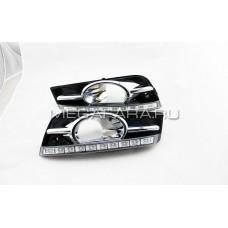 Дневные ходовые огни Шевроле Круз V5 Type (10 LED)