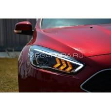 Передние фары Форд Фокус 3 2015-2017 V15 type