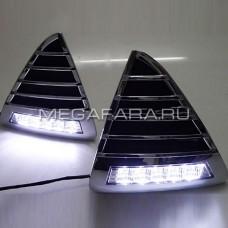 Дневные ходовые огни Форд Фокус 3 V4 Type