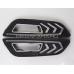 Дневные ходовые огни Форд Фокус 3 2015-2017 V14 Type с повторителем сигнала поворота