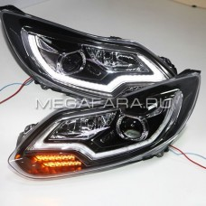 Передние фары Форд Фокус 3 2012-2014 V7 type