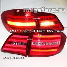 Задние фонари Грейт Вол Hover H6 2011-2014 Red Color / Задняя оптика Грейт Вол Hover H6 2011-2014 Red Color / Задние фары Грейт Вол Hover H6 2011-2014 Red Color