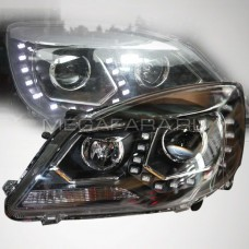 Передние биксеноновые фары Грейт Вол Ховер Н6 2011-13 V2 type