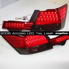 Задние светодиодные фонари Хонда аккорд 2008-2011 YZ style V1 Red