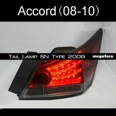 Задние светодиодные фонари Honda Accord 2008-2011 Sonar Style