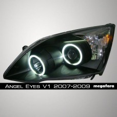 Передние фары Honda Accord Angel Eyes V1 Type 2005-2007