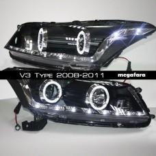 Передние фары Honda Accord V3 Type 2008-2011