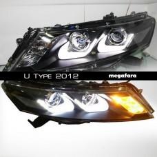 Передние фары Honda Crosstour U Type 2012