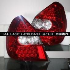 Задние фонари Honda Fit Jazz Tail Lamp hatchback 2002-2008