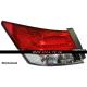Задние светодиодные фонари Honda Accord 2008-2011 BMW style YZ V2 Red