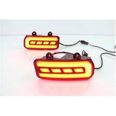 Светодиодные вставки в задний бампер Хонда СРВ V2 Type