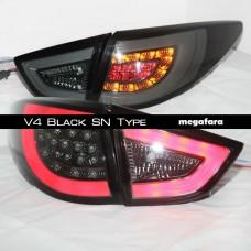 Задние фонари Hyundai Tucson ix 35 V4 Black SN Type