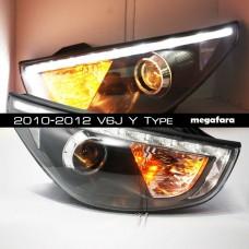 Передние фары Хендай IX35 2010-2015 V5 Type