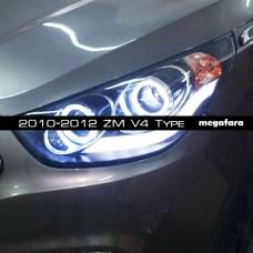 Передние фары Хендай IX35 2010-2015 V6 Type