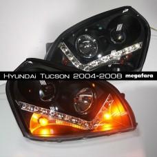 Передние фары Хендай Туксон IX35 2004-2008 V2 Type