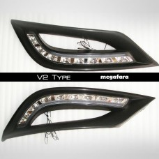 Дневные ходовые огни Hyundai Sonata V2 Type