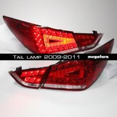 Задние фонари Hyundai Sonata Tail lamp 2009-2011
