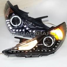 Передние фары Хендай Соната 2009-2014 V3 type