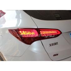Задние фонари Хендай Санта Фе (IX45) 2013-2015 V9 type