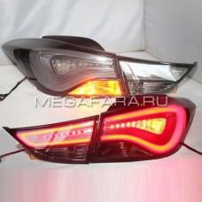 Задние фонари Хендай Элантра 2011-14 V8 type