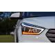 Передние фары Хендай Крета 2016-2020 V2 type [Комплект Л+П; Ходовые огни; Электрокорректор; биксеноновая линза; динамичный поворотник]