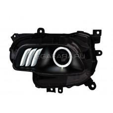 Передние фары Джип Чироки 2014-2019 V3 Type [Комплект Л+П; ходовые огни; биксеноновая линза Хелла 5R; электрокорректор]