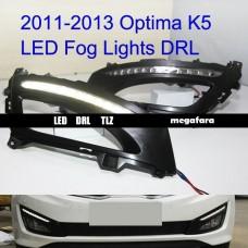 Дневные ходовые огни KIA Optima LED DRL TLZ