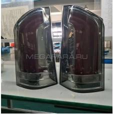 Задние фонари Мерседес Вито W447 2015-2019 V2 Type [Дымчатые; Комплект Л+П; Светодиодные; Динамичный поворотник]