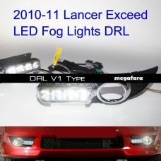 Дневные ходовые огни Mitsubishi Lancer V1 Type