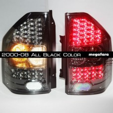 Задние фонари Mitsubishi Pajero  V73 2000-08 All Black Color