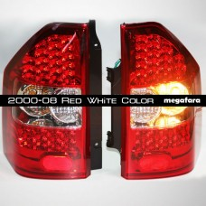 Задние фонари Mitsubishi Pajero  V73 2000-08 Red White Color