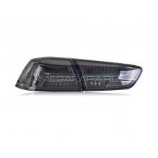 Задние фонари Мицубиси Лансер 2007-2016 Тонированные V8 Type