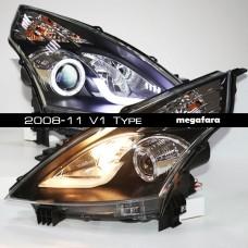 Передние фары Nissan Teana 2008-11 V1 Type