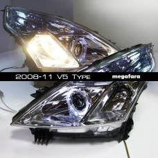 Передние фары Nissan Teana 2008-11 V5 Type