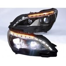 Передние светодиодные фары Пежо 3008 2017-2019 V1 type FULL LED