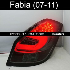 Задние фонари Skoda Fabia 2007-11 SN Type
