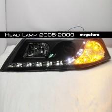 Передние фары Skoda Octavia Head Lamp 2005-2009
