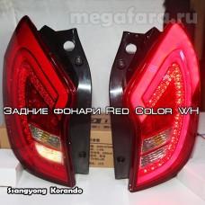 Задние фонари Ssangyong new Actyon (Korando C) 2011-2013 LED
