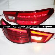 Задние фонари Toyota Mark X (Тойота Марк х) Strip Tail Lamp 2010-2013