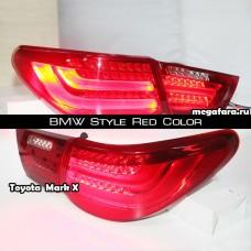 Задние фонари Toyota Mark X (Тойота Марк х) 2010-2013 BMW Style