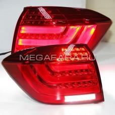 Задние фонари Тойота Хайлендер 2011-2013 BMW Style V5 type