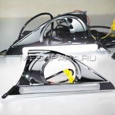 Дневные ходовые огни Тойота Камри V50 2011-2014 V6 type